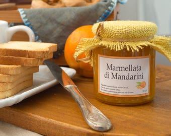 Handmade Extra Jam with organic Tangerines
