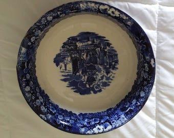 Wedgwood Blue/White Nautical Bowl