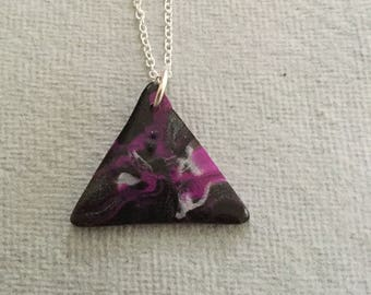 Triangle shaped pendant
