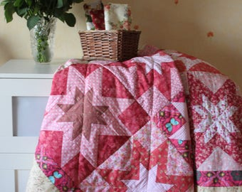Quilt, large blanket, cotton blanket