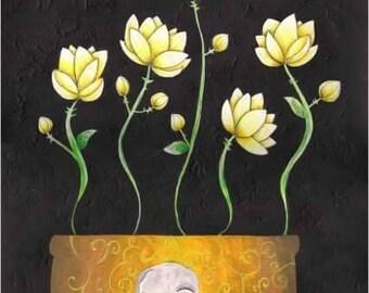 Flower pot skulls