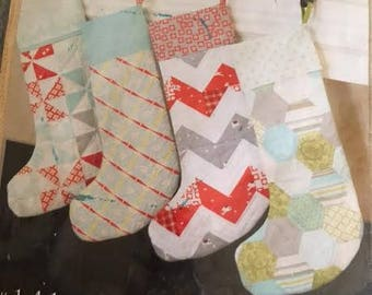Custom Quilted Christmas Stocking-Personalized