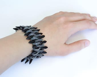 Bead bracelet Gotic