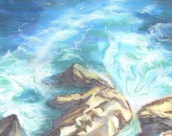 Stones and sea