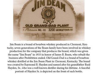 8x10 Print Jim Beam