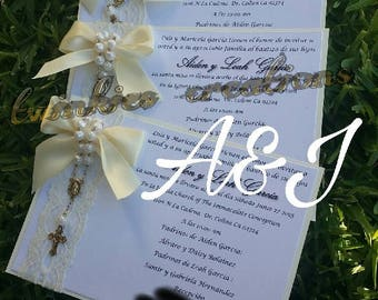 First Communion or Baptism Invitations