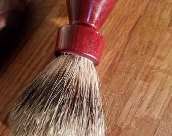 Handmade Shaving Brush-Mystery Wood