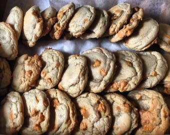 Rum Butterscotch Cookies
