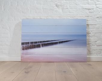 Dishoek, photo on wood, 60x90 cm, FSC Whitewood