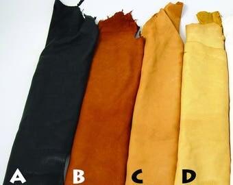 2-3 oz A Grade Deerskin Large Leather Hides