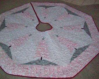 """64"""" Larger Reversible Christmas Tree Skirt #10L"""