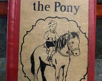 "1941 School Reader ""Peanuts The Pony"""