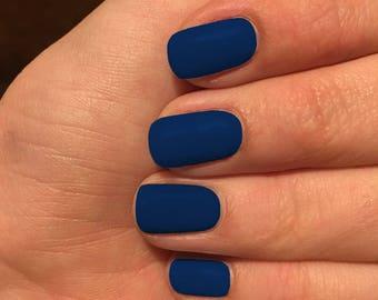 Navy Blue Nail wraps, Blue nail wraps, nail polish wraps, Midnight Blue nail wraps, Bachelorette Party Gift