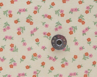 REMNANT Red and White Polka Dot Print Fabric | Sugar Pie for the You Make Life Sweet collection by Lella Boutique for Moda fabrics.