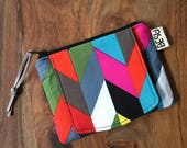 Card Cash Mini Wallet - Ziggy Cheveron