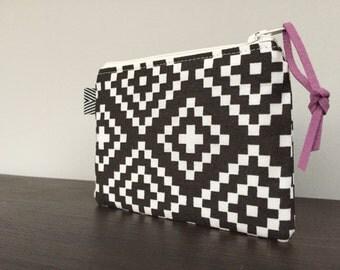 Mini Zip Pouch - Nordic Carbon