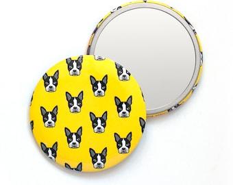 Boston Terrier Pocket Mirror