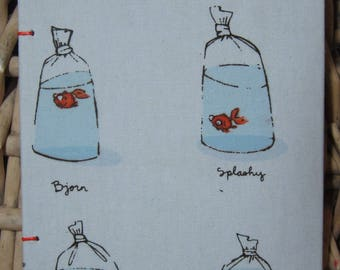 Goldfish in a bag journal