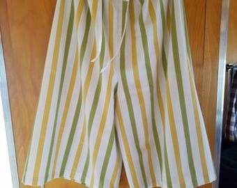 Upcycled Vintage Pillowcase Jammies/Lounge Pants to fit Woman Small - Xl