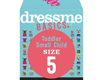 Dressme Basics - Pattern SIZE 5 - 1 Dress and 1 T-shirt - 1000s of possibilities