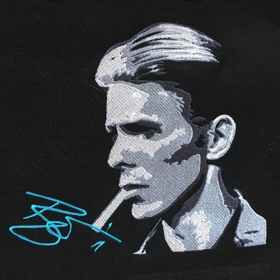David Bowie - Embroidery Pattern