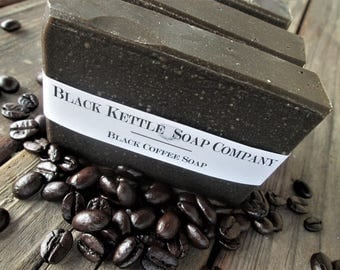 BLACK COFFEE Soap with Shea Butter