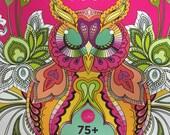Tula Pink Coloring Book FREE domestic SHIPPING