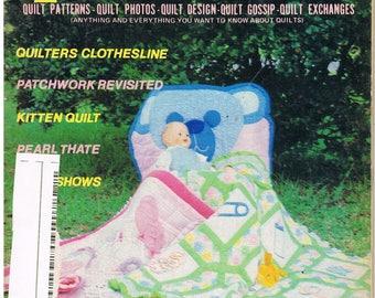 Vintage Back Issue of Quilt World Magazine