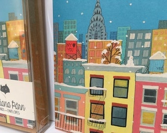 New York Loves You - Set of Six Blank Note Cards