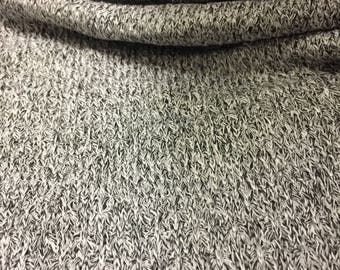 Stripes Design Sweater Knit Fabric 2 Yards