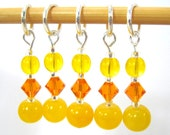 Rubber Ducky Stitch Marker Set - Customizable for Knitting or Crochet