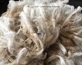 1 ounce of Raw Wool: Lillian a CVM Romeldale hogget