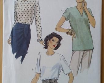 Vogue Vintage uncut pattern  8572 Very Easy Very Vogue Blouse size 20-22-24 1993