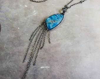 Apatite Fringe Necklace