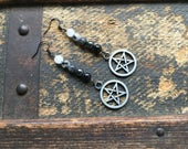 Three Pairs of Pentacle Earrings