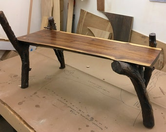 Large Live Edge Bench