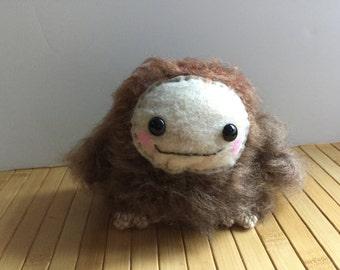 Mel the Sasquatch - Amigurumi Big Foot Knit Doll