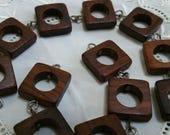 Dark Wood Chain Links