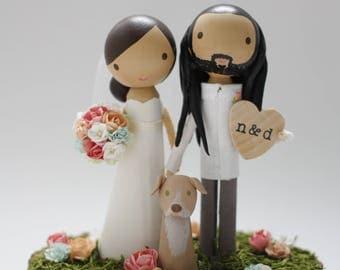 custom wedding cake topper - order for -SMITHSHERIDAN961