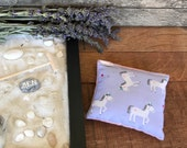Lavender Ice Pack - Lavender Ice Pad - Lavender Cooling Pad - Lavender Hot Pack - Lavender Hot Pad - Aromatherapy Heating Pad - Pain Relief