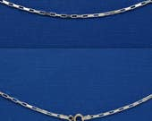"Necklace Sterling Silver Long Box Chain 16"" 18"" 20"" 24"" 1.7mm Style no. 150"