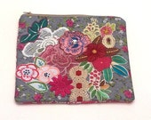 30 % OFF SALE NOVEMBER Embellished Textile Art Purse - One of a kind