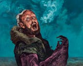 """The Thing  11"""" x 14"""" print Steven Russell Black"""