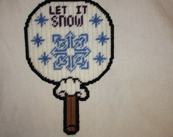 Let it snow lollypop