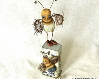 Don't Make Me Come Down There! Bee Brand - OOAK - USA