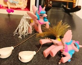 Set of Two MLP FIM Princess Celestia Ceiling Fan Pulls