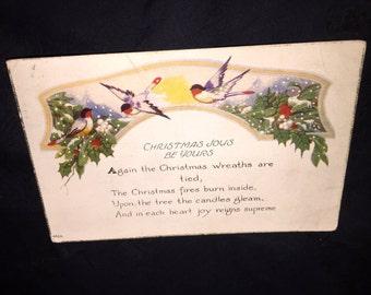 1924 Christmas Post Card