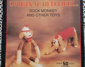 Original Red Heel Sock Monkey booklet