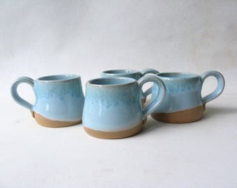 Espresso Cups, Demitasse, Set of 4 Espresso Cups