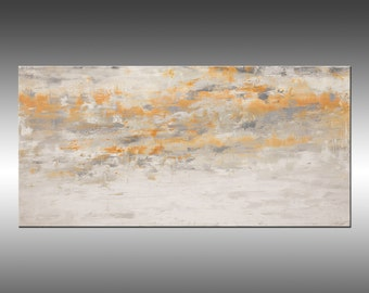 Rising Spirit, Large 36x72 Inch Original Abstract Painting, Modern Acrylic Fine Art on Canvas, Large Canvas Wall Art, Contemporary